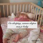 Co-sleeping, samen slapen met je baby